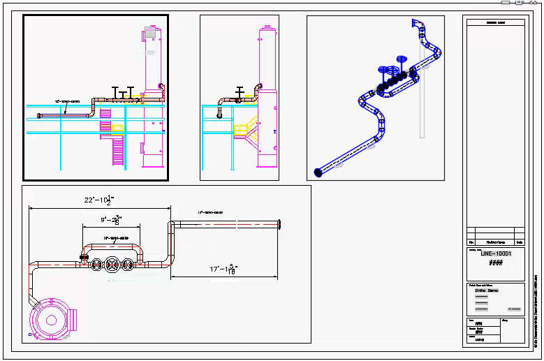 In The Pipes Dos And Donts With Orthographic Views