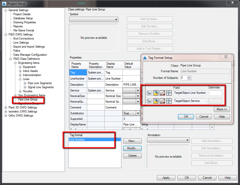 In the Pipes: How to customize an unique double tag in AutoCAD P&ID