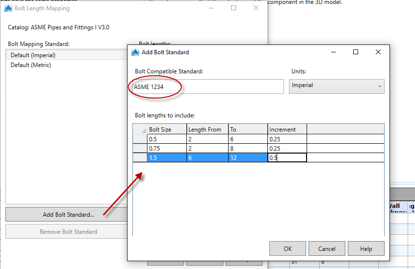 In the Pipes: AutoCAD Plant 3D: Handling Bolts in Piping Specs