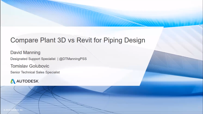 In the Pipes: Compare Plant 3D vs Revit for Piping Design
